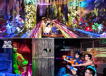 Madame Tussauds Sentosa + Nerf Action Xperience [Adult]