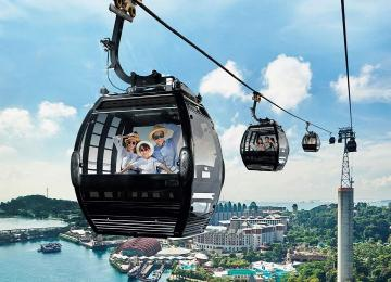 Explore Sentosa + Sunset Cruise with Dinner + Tour Guide